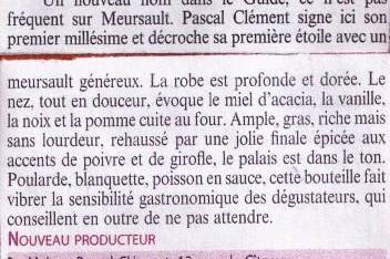 Meursault 2011